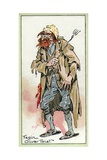 Fagin, from 'Oliver Twist', by Charles Dickens, 1923 Giclee Print by Joseph Clayton Clarke