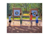 Young Archers, 2012 Giclee Print by Andrew Macara