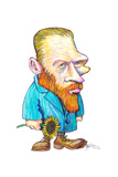 Vincent Van Gogh, 2012 Giclee Print by Gary Brown