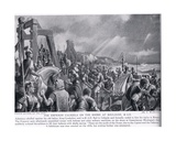 The Emperor Caligula on the Shore at Boulogne, Illustration from 'Hutchinson's History of the… Giclee Print by A. MacKinlay