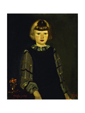 Portrait of Miss Ruth Breslin, 1925 Giclee Print by George Luks