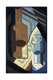 Bottle and Glass; Bouteille et Verre, 1921 Giclee Print by Juan Gris