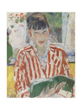 Woman Reading, 1913 Giclee Print by Rik Wouters