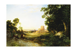 Tula, the Ancient Capital of Mexico, 1908 Giclee Print by Thomas Moran