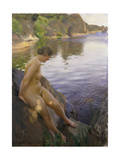 From Sandham; Fran Sandham, 1906 Giclee Print by Anders Leonard Zorn