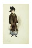Aunt Ellen, 1910 Giclee-trykk av Charles Demuth