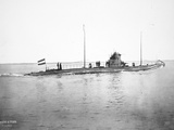 German U-Boat, c.1915 Photographic Print by  German photographer