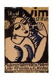 Poster Institute Muim; Plakat Muim Institut, 1911 Giclée-Druck von Ernst Ludwig Kirchner