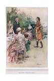 The Squire Introduces Himself, Illustration from 'The Vicar of Wakefield' by Oliver Goldsmith,… Giclee Print by Margaret Jameson