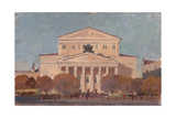 The Bolshoi Theatre, 1957 Giclee Print by Konstantin Lekomtsev