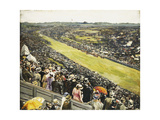 The Derby, 1922 Gicléetryck av Sir John Lavery