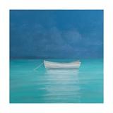 White Boat, Kilifi 2012 Giclée-tryk af Lincoln Seligman