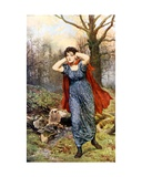 Hetty Sorrel Giclee Print by John Collier