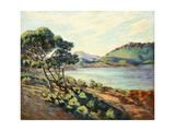 La Baie d'Agay, c.1910 Giclee Print by Armand Guillaumin