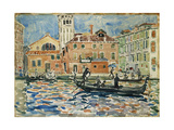 Venice, c.1909 Giclee Print by Maurice Brazil Prendergast