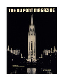 Golden Gate International Exposition, Front Cover of the 'Dupont Magazine', April 1939 Giclee Print by  American School