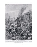 Boadicea's Attack on Camulodunum, Illustration from 'Hutchinson's History of the Nations', c.1910 Giclee Print by Henry Payne