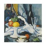 Fruit and Wine, c. 1922 Giclee Print by Samuel John Peploe