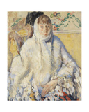 The Sick Woman with White Shawl, 1912 Giclee Print by Rik Wouters