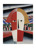 Head of a Peasant, c.1930 Giclee Print by Kasimir Malevich
