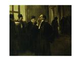 Palace Corridor Scene; Scene de Couloir Au Palais, c.1905 Giclee Print by Jean Louis Forain