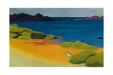 Bay at Tregastel, 1917 Giclee Print by Felix Edouard Vallotton
