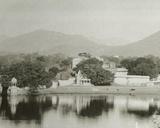 Lake at Udaipur, Rajputana, January 1912 Photographic Print by  English Photographer