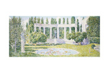 The Bartlett Gardens, Amagansett, 1933 Giclee Print by Childe Hassam