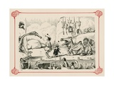 Primeval Pantomine Giclee Print by Edward Tennyson Reed