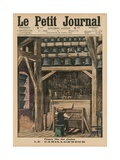 Easter, the Bell Ringer, Front Cover Illustration from 'Le Petit Journal', Supplement Illustre,… Giclee Print by  French School