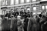 Revolutionary Soldiers and Sailors in the Streets of Petrograd, February 1917 Photographic Print by  Russian Photographer