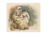 Timothy and His Mother Giclee Print by Ambrose Dudley