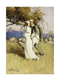 Summer Days, 1916 Giclee Print by William Henry Dethlef Koerner