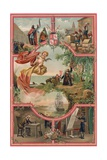 Spanish History - Frontispiece Giclee Print by  Spanish School