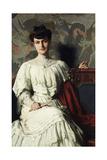 Portrait of Marthe Hientz, c. 1906 Giclee Print by Thomas Pollock Anschutz