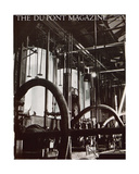 Industrial Plant, Front Cover of the 'Dupont Magazine', March 1931 Giclee Print by  American School