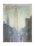Madison Avenue at Twilight, c.1911 Giclee Print by Lowell Birge Harrison