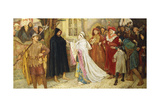 The Penance of the Duchess of Gloucester, 1902 Giclee Print by Frederick William Davis