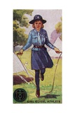 Girl Guide Athlete Badge, 1923 Giclee Print by  English School
