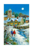 The Village in Winter, 2012 Giclee Print by Stanley Cooke
