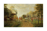 Passing the Outposts on the Old Kingsbridge Road, 1903 Giclee Print by Edward Lamson Henry