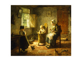 An Idle Afternoon, 1920 Giclee Print by Evert Pieters