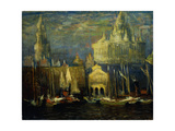 New York Waterfront, 1925 Giclee Print by Arthur Clifton Goodwin