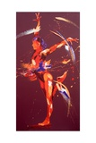 Gymnast Eight, 2011 Giclee Print by Penny Warden