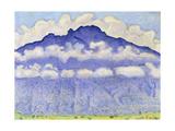 Schynige Platte, 1909 Gicléetryck av Ferdinand Hodler