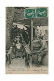 Magic City, Paris, Postcard Sent on 19th July 1913 Giclee Print by  French Photographer
