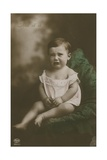 Postcard of a Boy Crying, Sent in 1913 Giclee Print by  German photographer