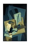 Music Book; Le Cahier de Musique, 1922 Giclee Print by Juan Gris