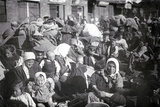 Refugees in St Petersburg, 1915 Photographic Print by  Russian Photographer