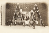 The Middle Panel, at the Salon des Artistes Francais, Grand Palais, May 1903 Photographic Print by  French Photographer